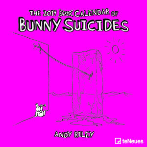 Calendrier 2019 Lapin suicidaire - Andy Riley