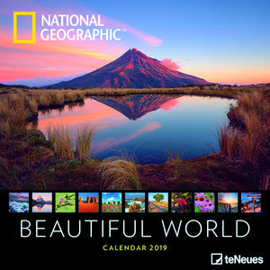 Calendrier 2019 National Geographic Le Monde et sa beauté