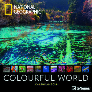 Calendrier 2019 National Geographic Un monde coloré