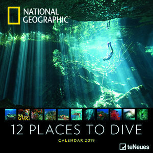 Calendrier 2019 National Geographic Plongée sous marine