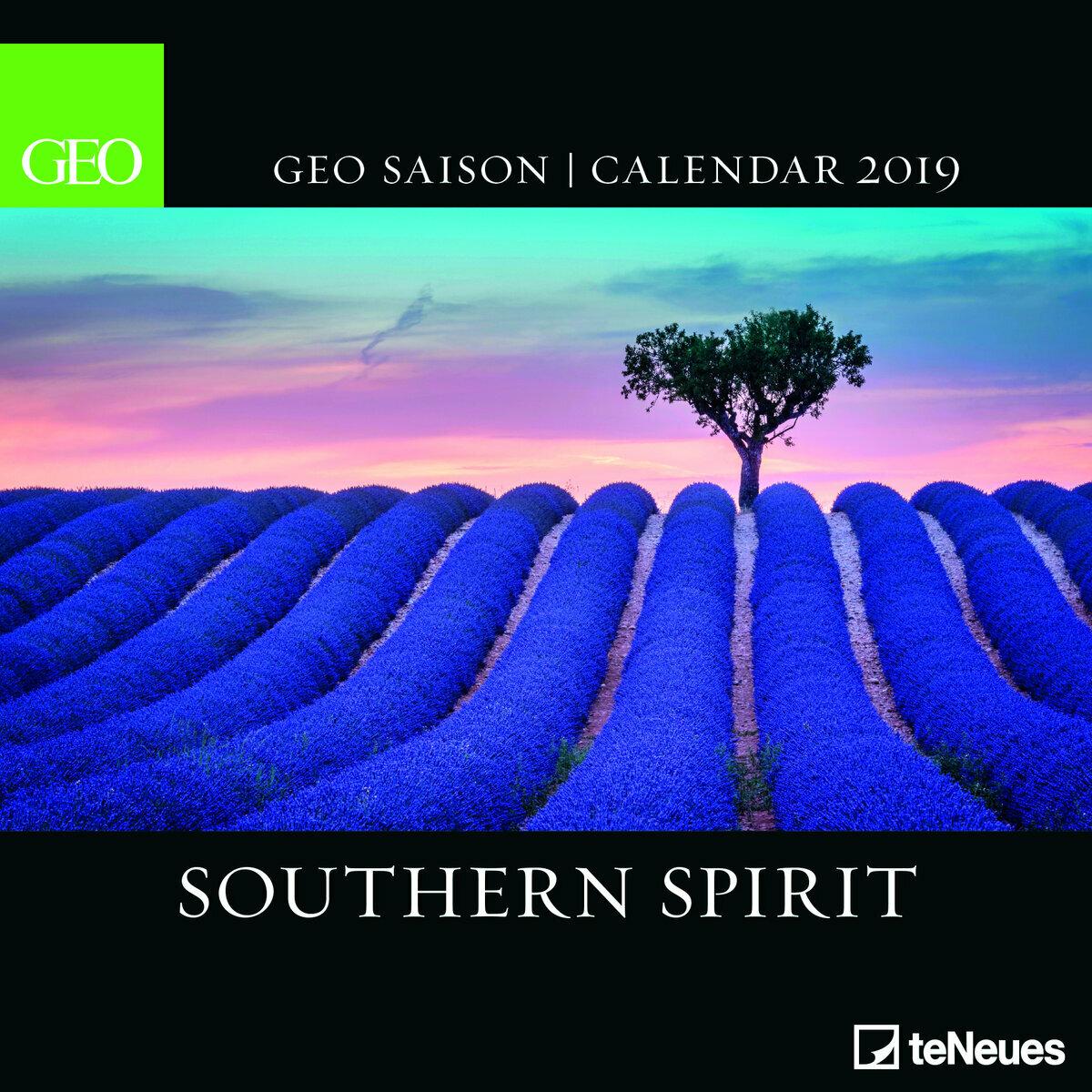 Calendrier Geo 2019.Calendrier 2019 Geo Esprit Du Sud