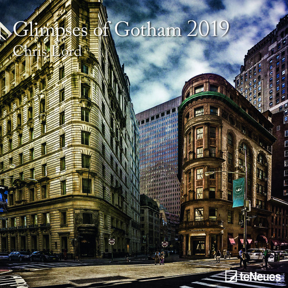 Calendrier Gotham.Calendrier 2019 Gotham Chris Lord
