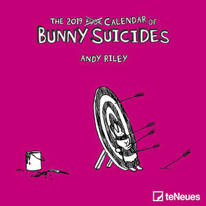 Mini calendrier 2019 Lapin suicidaire- Andy Riley