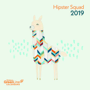 Calendrier 2019 Eco-responsable Hipster branché