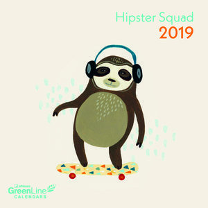 Mini calendrier 2019 Eco-responsable Hipster branché