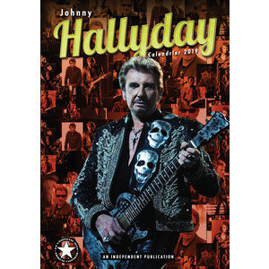 Calendrier 2019 Johnny Hallyday format A3