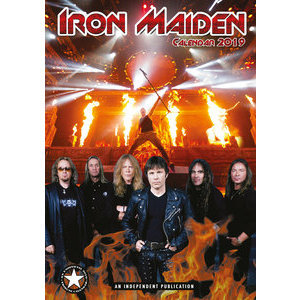 Calendrier 2019 Iron Maiden format A3