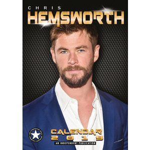 Calendrier 2019 Chris Hemsworth format A3