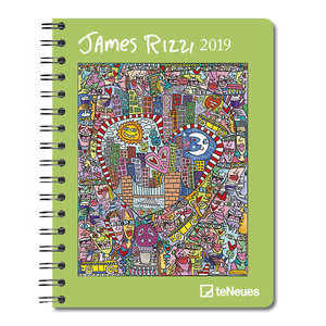 AGENDA DELUXE JAMES RIZZI 2019