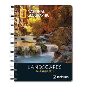AGENDA DELUXE PAYSAGE PAR NATIONAL GEOGRAPHIC 2019