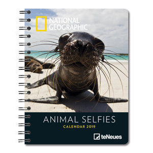 AGENDA DELUXE SELFIE ANIMAUX PAR NATIONAL GEOGRAPHIC 2019