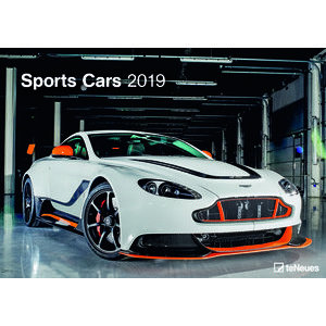 Maxi Calendrier 2019 Voiture sportive