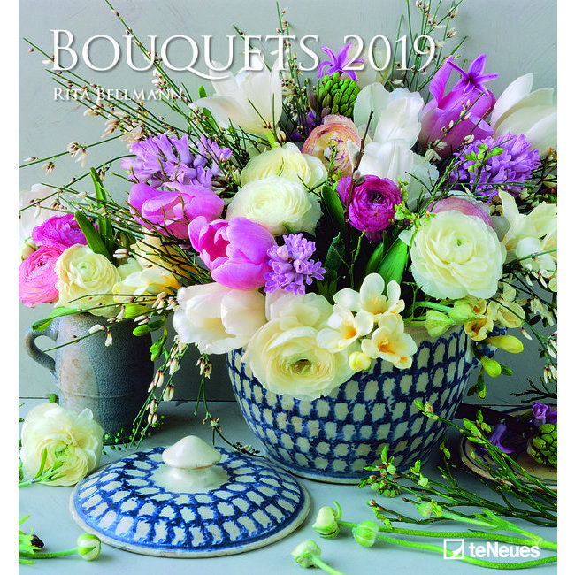 Maxi Calendrier 2019 Art et photo Bouquet de fleurs