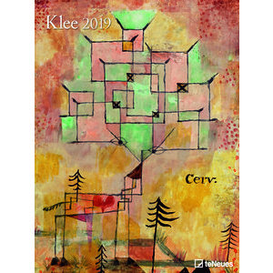 Maxi Calendrier Poster 2019 Paul Klee