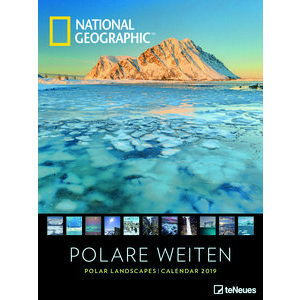 Maxi Calendrier Poster 2019 Paysage polaire par National Geograhic