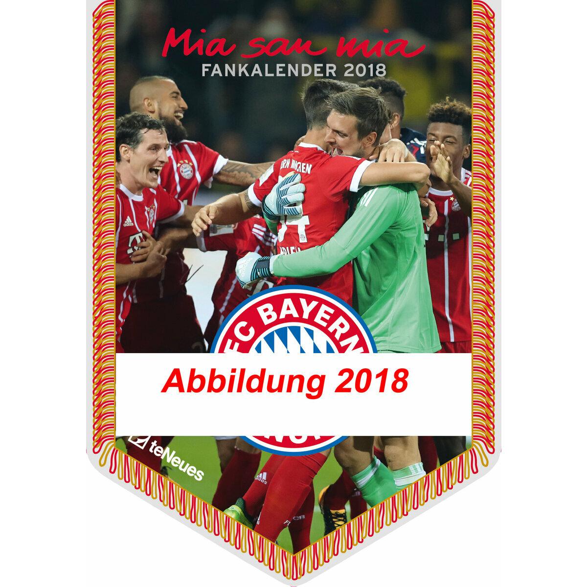 Calendrier Bayern.Calendrier 2019 Fc Bayern Munich