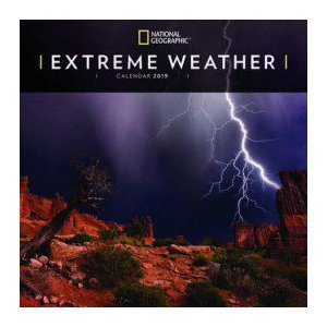 Calendrier 2019 Orage National Geographic
