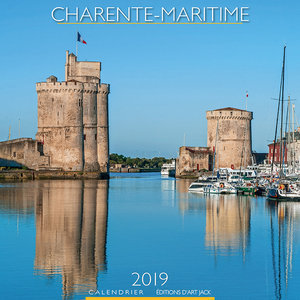 Calendrier chevalet 2019 Charente maritime