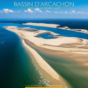 Calendrier chevalet 2019 Bassin d'arcachon