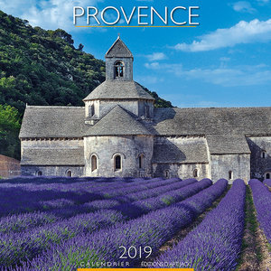 Calendrier chevalet 2019 Provence