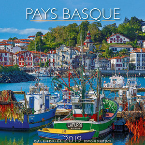 Calendrier chevalet 2019 Pays basque