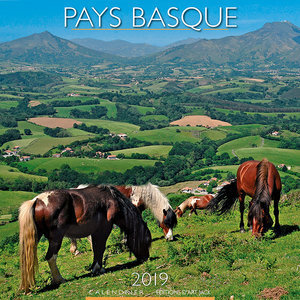 Calendrier 2019 Paysage Pays basque