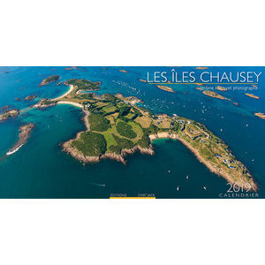 Calendrier carré 2019 Ile Chausey