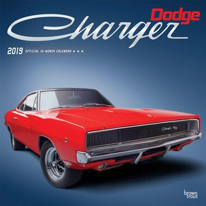 Calendrier 2019 Dodge Charger