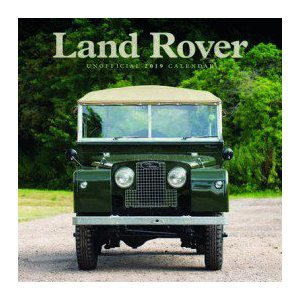 Calendrier 2019 Land Rover