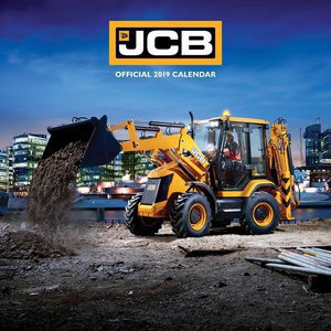 Calendrier 2019 tractopelles JCB