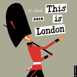 Calendrier 2019 Dessins de Londres M.Sasek This is Londres