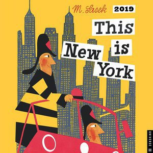 Calendrier 2019 Dessins de New York M.Sasek This is New York