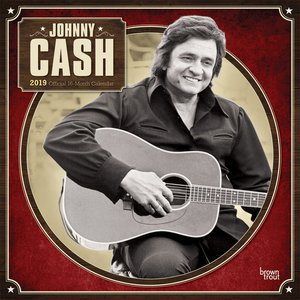 Calendrier 2019 Johnny Cash country