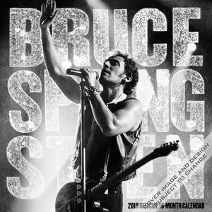 Calendrier 2019 Bruce Springsteen