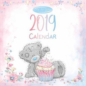 Calendrier 2019 Me to you ourson peluche
