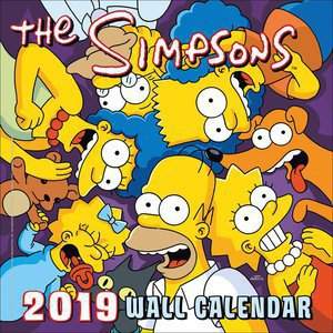 Calendrier 2019 Simpsons