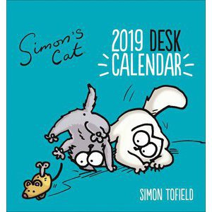 CALENDRIER CHEVALET SIMON CAT 2019