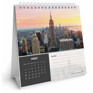 CALENDRIER CHEVALET NEW YORK 2019