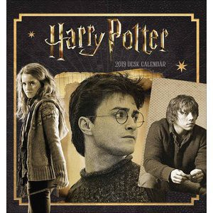 CALENDRIER CHEVALET HARRY POTTER 2019