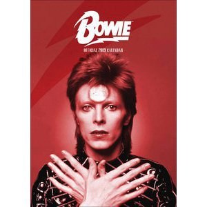Calendrier 2019 David Bowie format A3