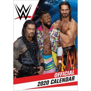 Calendrier 2020 Catch combat homme format A3