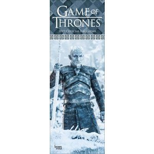 Calendrier 2019 Game of thrones slim