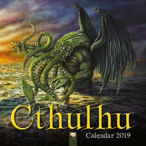 Calendrier 2019 Cthulhu - extraterrestre