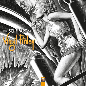 Calendrier 2019 Science fiction - Virgil Finlay