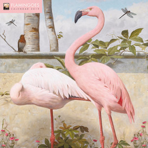 Calendrier 2019 Dessin Flamant Rose