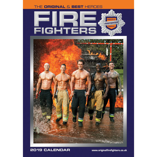 Calendrier 2019 Pompiers Sexy Format A3