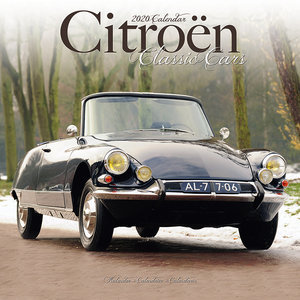 Calendrier 2020 Citroen de collection
