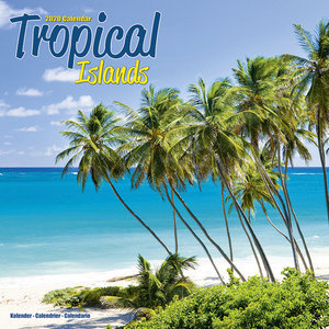 Calendrier 2020 Iles tropicales