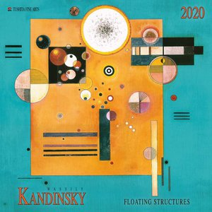 Calendrier 2020 Wassily Kandinsky - structures flottantes