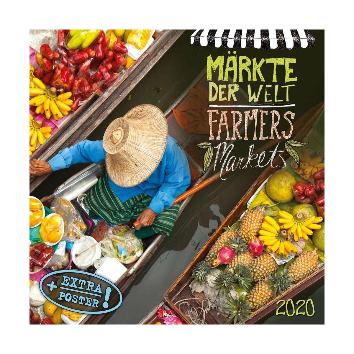 Calendrier 2020 Avec Photos.Calendrier 2020 Gastronomie Et Marche Du Monde Avec Poster Offert